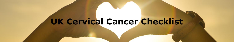 Cervical Cancer Checklist